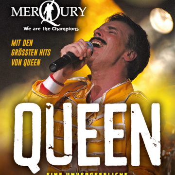 MERQURY - The QUEEN Tribute Rock Show