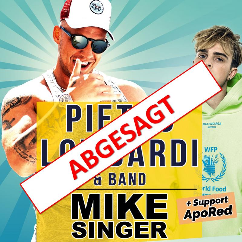 Titelbild Pietro Lombardi & Band | Mike Singer | Support: ApoRed